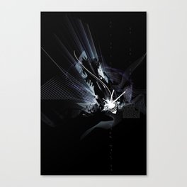 the darkness Canvas Print