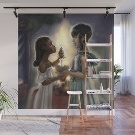 Chalice and Blade Wall Mural