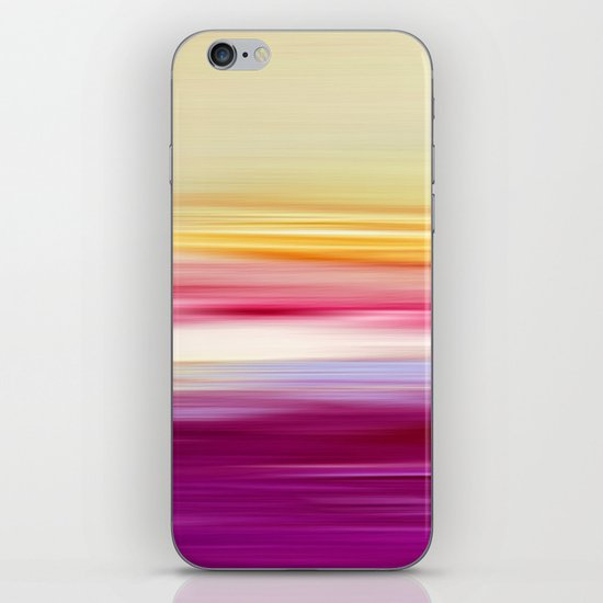 abstract sundown iPhone & iPod Skin