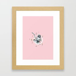 Cultivating the Garden (A Space Symphony) Framed Art Print