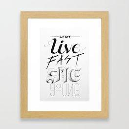 LFDY Framed Art Print