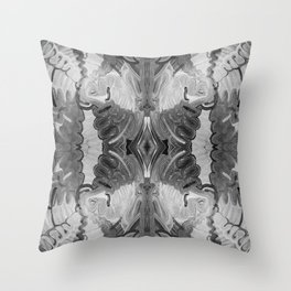 B&W Open Your Eyes Throw Pillow