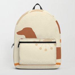 Mid Mod Dog Backpack