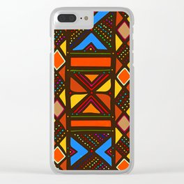 African Style No6, Sahara Desert Clear iPhone Case
