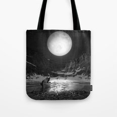 Somewhere You Are Looking At It Too Tote Bag