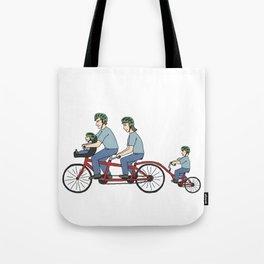 Quad Bicycle Tote Bag