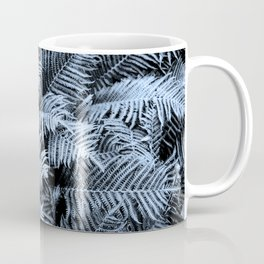Fern | Sapphire | Deep Blue Botanical Art Coffee Mug