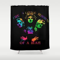 queen Shower Curtains featuring Queen by SwanniePhotoArt