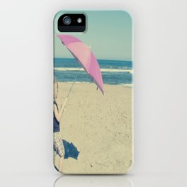 Beach Whirl iPhone Case