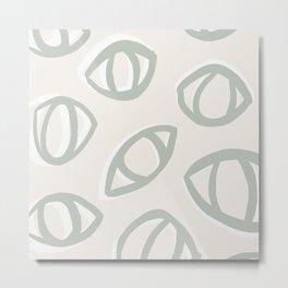 Sage Eyes Metal Print