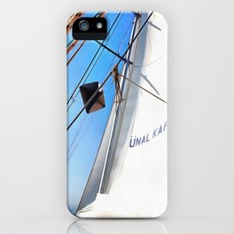 The Realist Adjusts The Sails iPhone Case