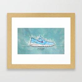 Janoski Air Max Framed Art Print