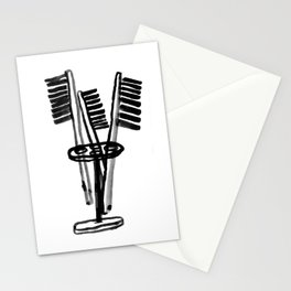 Toothbrushes Stationery Cards