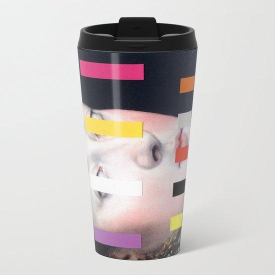 Portrait With A Spectrum 4 Metal Travel Mug