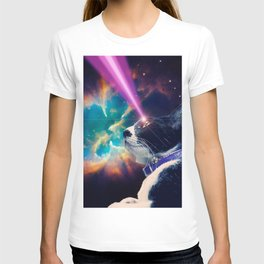 Neko San in Space T-shirt