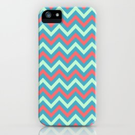 Tricolor Chevron 3 - more colors iPhone Case