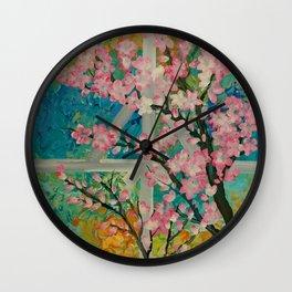 Prunus serrulata Wall Clock