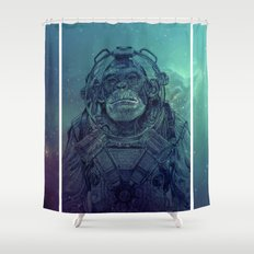 Apex-XIII: Mission I Shower Curtain