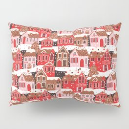 Gingerbread Village Pillow Sham