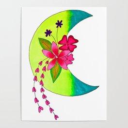 moon art 9 Poster