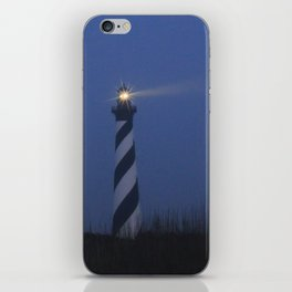 Cape Hatteras at night iPhone Skin