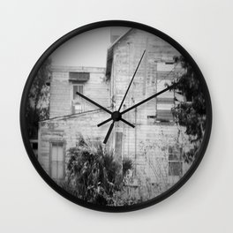Old Florida Homestead Wall Clock