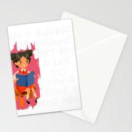 I Am a Reader Stationery Cards