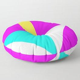 Mondrian style vivid colors high resolution fine art for home decor. Floor Pillow