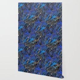 Precious Lapis Lazuli Stone Mineral Blue Gold Wallpaper