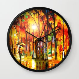 Tardis Wall Clock
