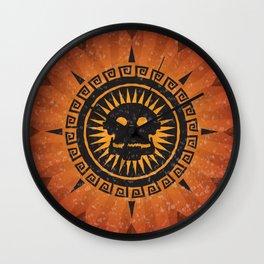 The God of Death Wall Clock
