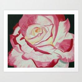 Friendship Rose Art Print
