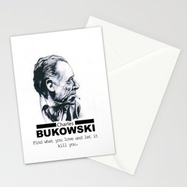 Charles Bukowski Stationery Cards