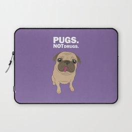 Pugs. Not drugs. Laptop Sleeve