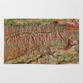 Mossy Wood Rifts Rug