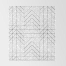 Scandi Grid Throw Blanket