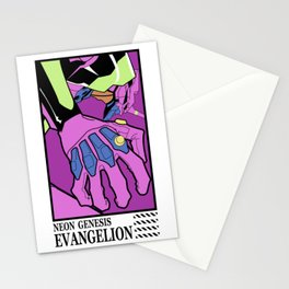 Evangelion eva01 unit Stationery Cards