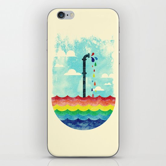 Pond Of Color iPhone & iPod Skin