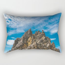 View Hiking up Iztaccihutal Volcano, Mexico City Rectangular Pillow