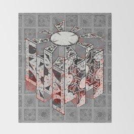 Hellraiser Puzzlebox D Throw Blanket