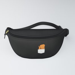 Funny Fried Chicken Wings Pocket Foodie Gift Fanny Pack