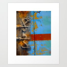 abstract 1 / textural /  Art Print