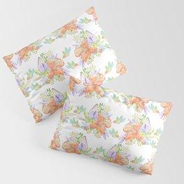 Tropical Leilee Hawaiian Flower Print Pillow Sham