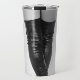 boots, legs, and that ass Travel Mug