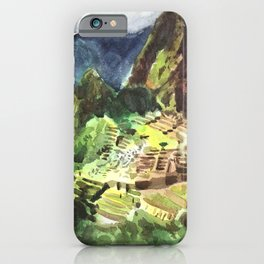 Machu Picchu Peru South America iPhone Case
