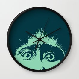 Peeping tom Wall Clock