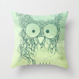 The Babybirds Owl 02 Throw Pillow