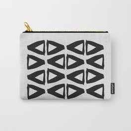 Black and White Abstract II Carry-All Pouch