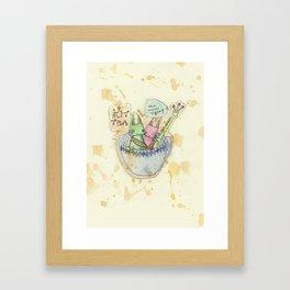 Kittea Framed Art Print