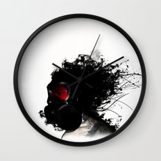 Ghost Warrior Wall Clock